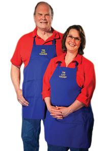 Cindy Clarke and Jim Willett