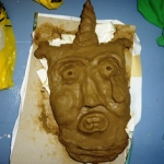 Student Clay Mask from New Zealand