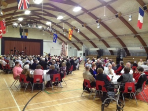 Senior's Supper in Milk River.