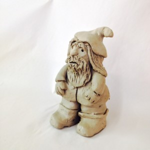 Standing gnome.